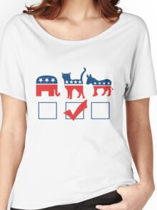I'm voting for CATS Women's Relaxed Fit T-Shirt