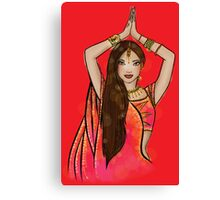 Bollywood Boogie Canvas Print