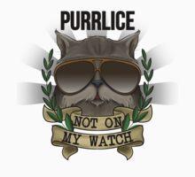 PURRLICE- HERO CAT TRIBUTE Kids Clothes