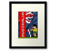 World Cup 2014: Australia Framed Print