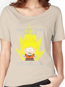 OMG They Killed Krillin Women's Relaxed Fit T-Shirt