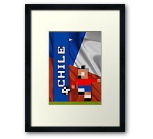 World Cup 2014: Chile Framed Print