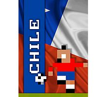 World Cup 2014: Chile Photographic Print