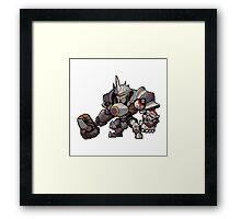 Pixel Reinhardt Framed Print