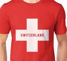 Switzerland EURO 2016 France Unisex T-Shirt