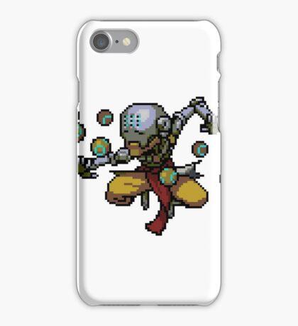 Pixel Zenyatta iPhone Case/Skin