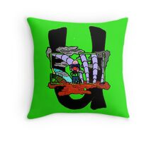 Only U can Stop the Flood Throw Pillow