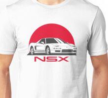 Honda NSX (white red) Unisex T-Shirt