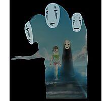 Kaonashi And Ogino Chihiro Spirited Away | Sen To Chihiro No Kamikakushi Photographic Print