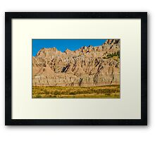 Geologic Eyeblink Framed Print
