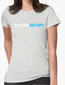 Bo Burnham - Make Happy Womens Fitted T-Shirt