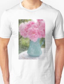 Pitcher of Peonies Unisex T-Shirt