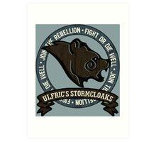 Join the Stormcloak Rebellion Art Print