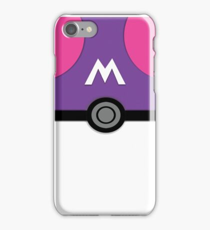 Gotta Text Them All, Masterball Version iPhone Case/Skin