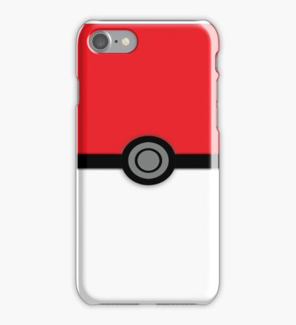 Gotta Text Them All, Pokeball Version iPhone Case/Skin