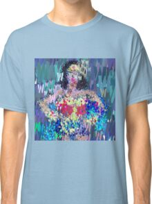 Superheros Type Font Series - Abstract Wonder Pop Art Comic Classic T-Shirt