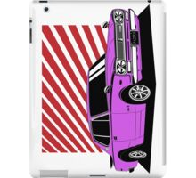 Nissan Skyline 2000 GT-R Coupe (purple) iPad Case/Skin