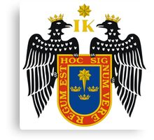 Coat of Arms of Lima, Canvas Print