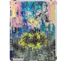 Superheros Type Font Series - Abstract Bat Pop Art Comic iPad Case/Skin