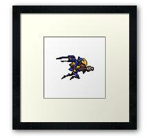 Pixel Pharah Framed Print