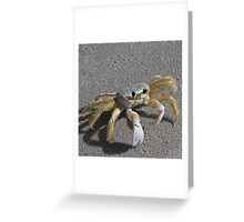 I'm a little crabby Greeting Card
