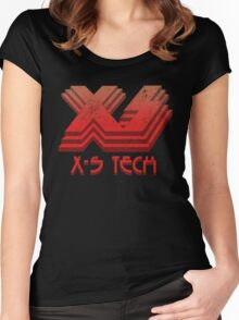 X-S Tech Corporate Logo Women's Fitted Scoop T-Shirt