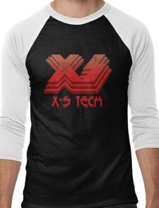 X-S Tech Corporate Logo Men's Baseball ¾ T-Shirt