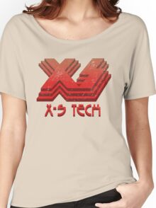 X-S Tech Corporate Logo Women's Relaxed Fit T-Shirt
