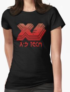 X-S Tech Corporate Logo Womens Fitted T-Shirt