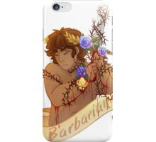 Blood of a Barbarian iPhone Case/Skin
