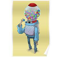 Bubblegum Machine Poster