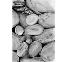 Irish Pebbles Photographic Print