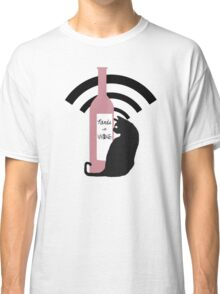 Nerds with Wine Icon Classic T-Shirt