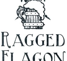 Visit the Ragged Flagon! Sticker