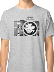 camera - holiday snaps Classic T-Shirt
