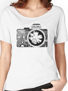 camera - holiday snaps Women's Relaxed Fit T-Shirt