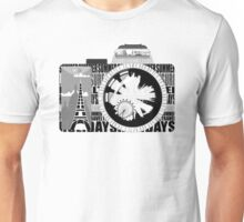 camera - holiday snaps Unisex T-Shirt
