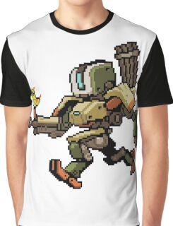 Pixel Bastion Graphic T-Shirt