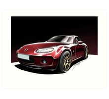 Mazda MX5 Art Print