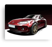 Mazda MX5 Canvas Print