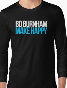 Bo Burnham - Make Happy Long Sleeve T-Shirt