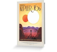 Kepler-16b : JPL/NASA Visions of the Future Greeting Card