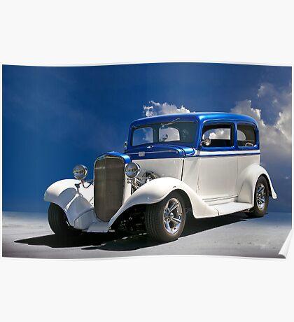 1933 Chevrolet Sedan Poster