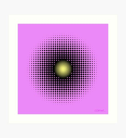 PULSATIONS Art Print