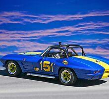 1964 Corvette Vintage Racecar II by DaveKoontz
