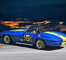 1964 Corvette Vintage Racecar I by DaveKoontz