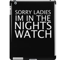 NIGHTS WATCH iPad Case/Skin