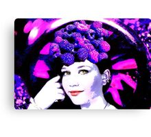 Raspberry Couture Canvas Print