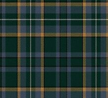 02801 Frederick County, Maryland Tartan  by Detnecs2013