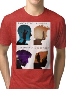 The Four New Doctors( Doctor Who) Tri-blend T-Shirt
